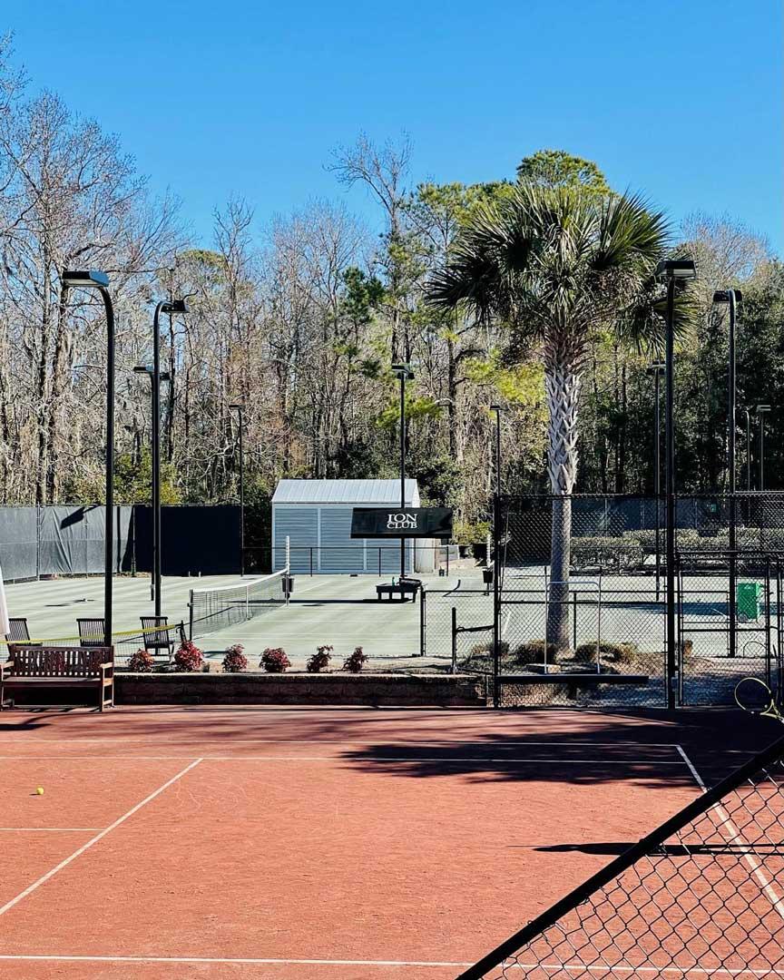 Tennis Court in Mount Pleasant